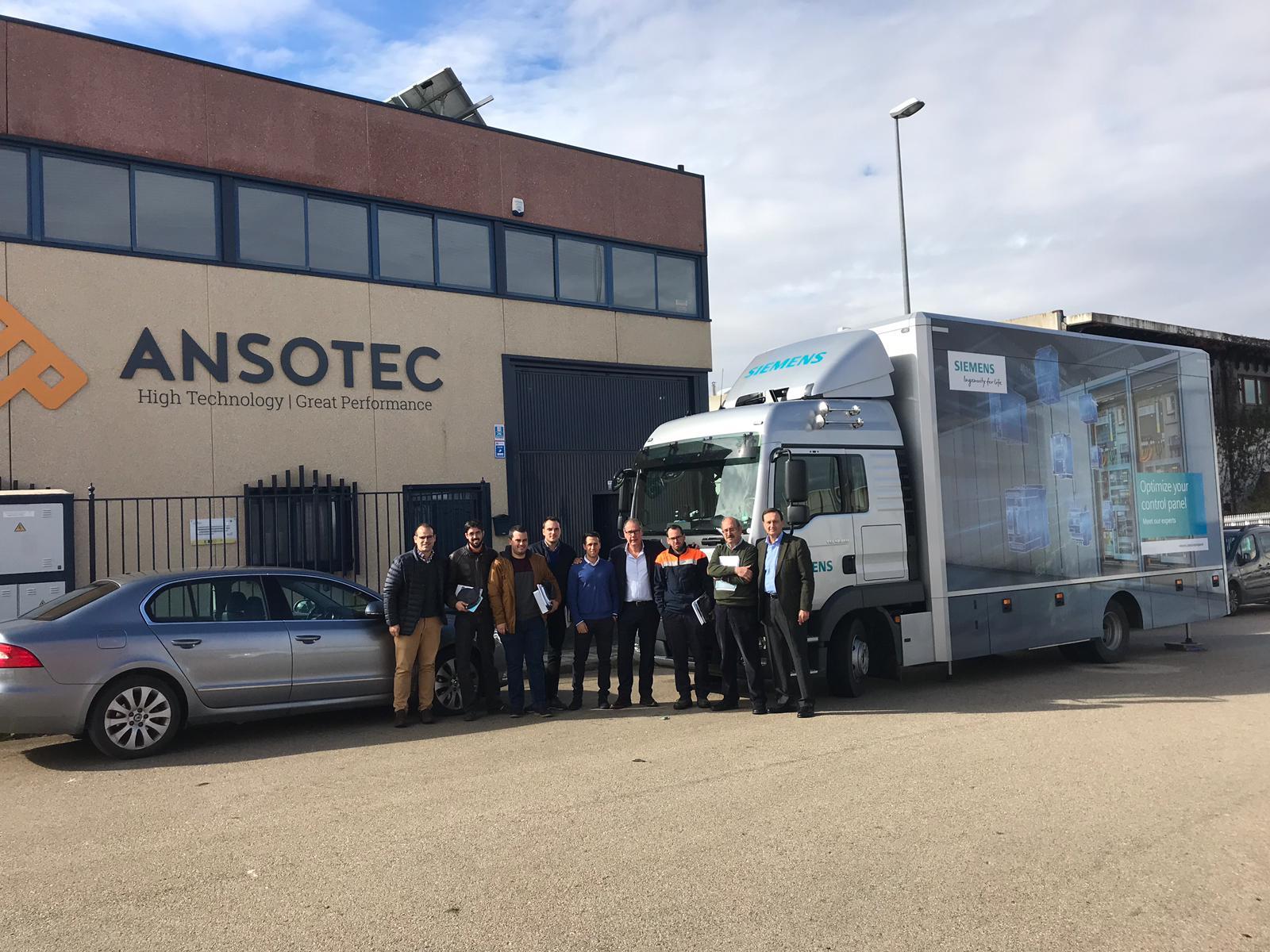 Apertura del nuevo taller de ANSOTEC para la construcción de cuadros eléctricos y de control