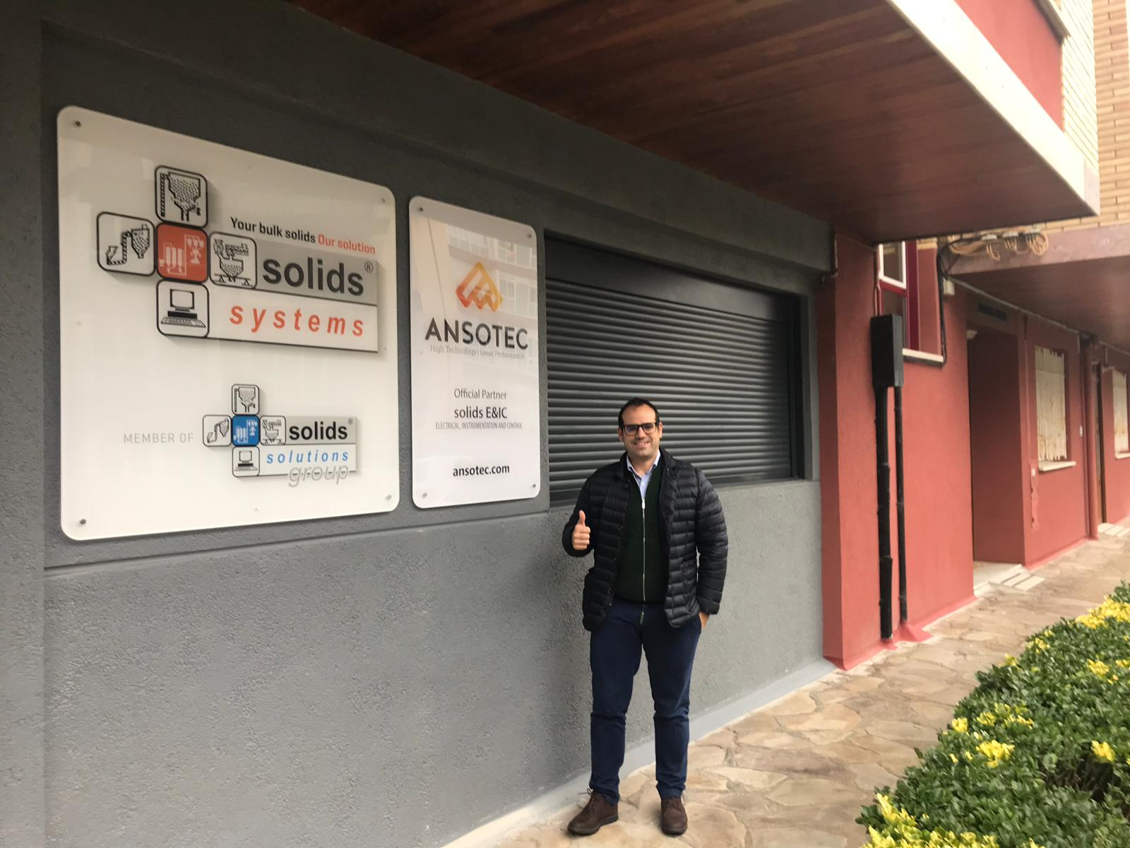 ANSOTEC opens new offices in the Basque Country, in Zarautz.